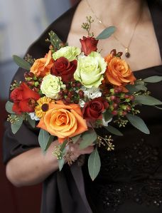 Rose and Germini Bridal Bouquet
